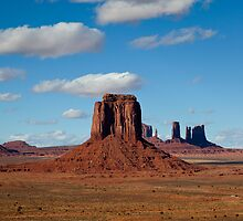 MONUMENT VALLEY 1 by Peter Kewley