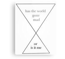 MAD Metal Print