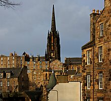 Tenements in the Cowgate by Tom Gomez
