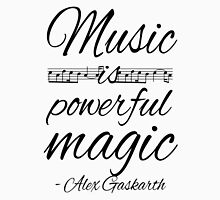 Music is Powerful Magic - AG Unisex T-Shirt