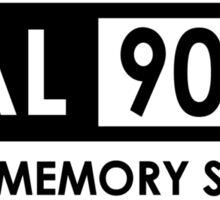HAL 9000 - A Space Odyssey Sticker