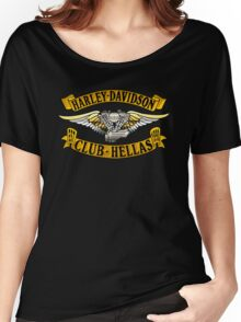 Harley Davidson Club Hellas Women's Relaxed Fit T-Shirt