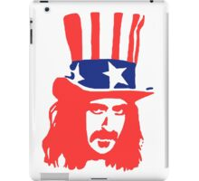 Frank Zappa Shirt iPad Case/Skin