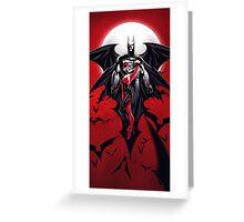 Batman Harley Quinn love Greeting Card