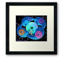 Dimensional Genesis - a fractal artwork Framed Print