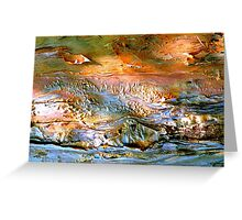 Seaside Abstract Greeting Card