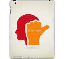 Head2 iPad Case/Skin