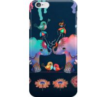 Elephant Yoga iPhone Case/Skin