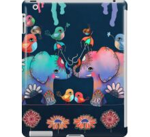 Elephant Yoga iPad Case/Skin