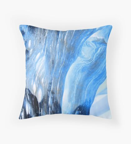 Vertical Current Throw Pillow