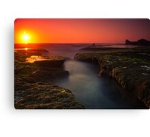 Sunset at Sphinx Rock Canvas Print