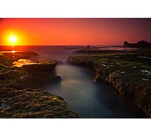 Sunset at Sphinx Rock Photographic Print