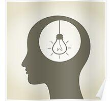 Idea in a head Poster