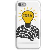 Idea of a brain iPhone Case/Skin