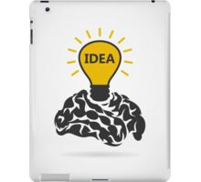 Idea of a brain iPad Case/Skin