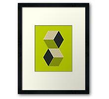 CUBES (8) Framed Print