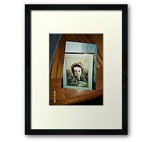 Amish girl with her bowl Framed Print