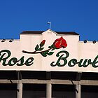 Rose Bowl {Sign} by Photos55