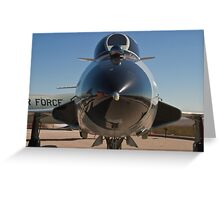F-101B Voodoo Greeting Card