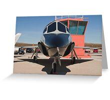 TF-102A Delta Dagger Greeting Card