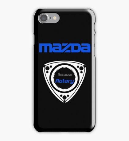 Mazda Rotary Phone Case iPhone Case/Skin