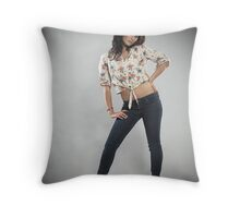 """""""Traditional Individual - Ashley Hill"""" Throw Pillow"""