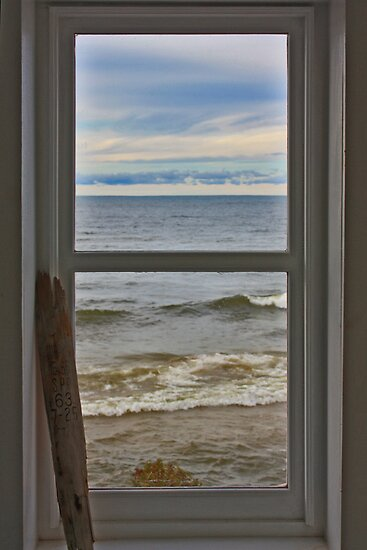 Through the Lighthouse Window 1 by Megan Noble