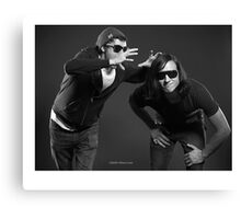 """Contemporary couples - Alex and Paul"" Canvas Print"