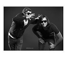 """Contemporary couples - Alex and Paul"" Photographic Print"
