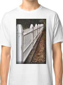 White Picket Fence Classic T-Shirt