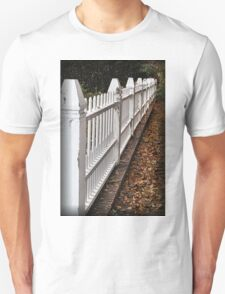 White Picket Fence Unisex T-Shirt