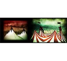 silver big top Photographic Print