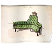 Le Garde Meuble Desire Guilmard 1839 0237 High Style Seat Furniture Interior Design Poster