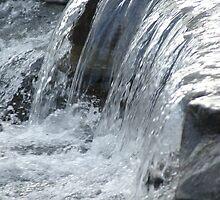 Taugahannock Creek, Ithaca, NY by Claudia Smaletz