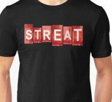 STREAT red mash-up Unisex T-Shirt