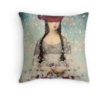 Binding Flowers Throw Pillow