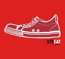 STREAT red sneaker by STREAT