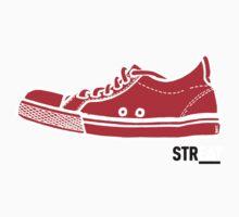 STREAT red sneaker Baby Tee