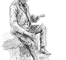 The Fiddler by Michael Beckett
