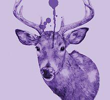 'Deers Head' by richardtclarke