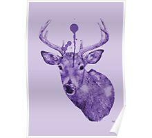 'Deers Head' Poster