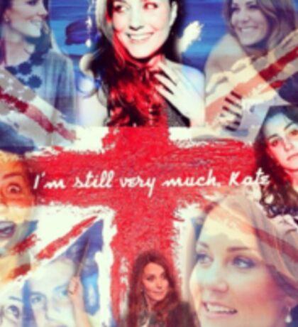 Still Kate Sticker