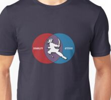 Disabilities with Attitude Unisex T-Shirt