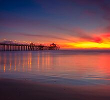 Bright Sunset by Doug Dailey