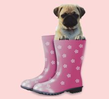 Pug In Boots Kids Clothes