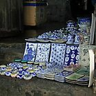 Ceramics Shop in Hoi An by Kristi Robertson