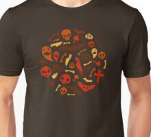 Halloween Orange Pattern Unisex T-Shirt