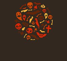 Halloween Orange Pattern Unisex T-Shirt