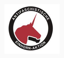 Antifaschistische Einhorn-Aktion T-Shirt