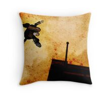 Brother Hazard Hunts In The City Throw Pillow